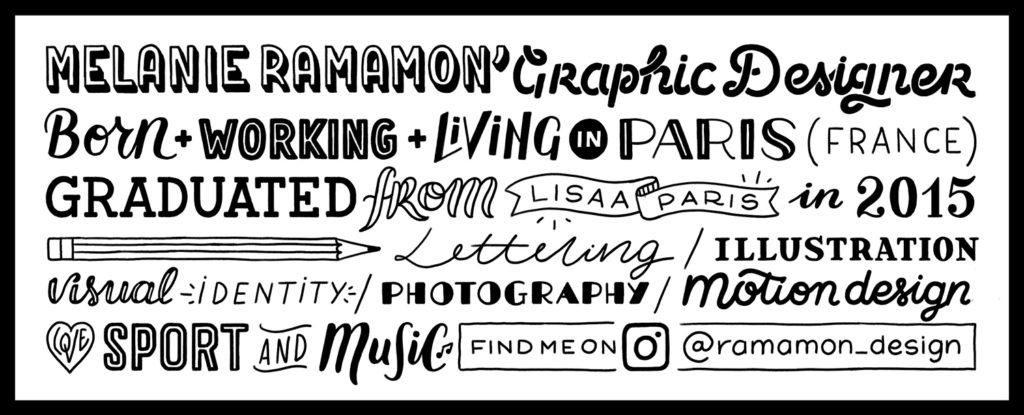 Melanie Ramamon / About