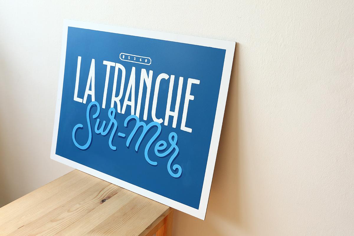Tableau la Tranche-sur-mer